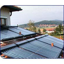 Solarsammler mit Solar Keymark genehmigt