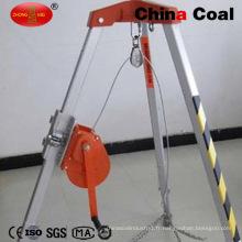Trépied de sauvetage d'urgence de charbon de la Chine de haute qualité