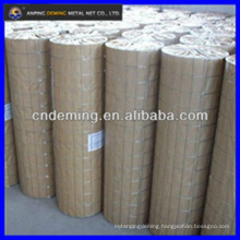 Square hole welded wire mesh with good price per roll or kg