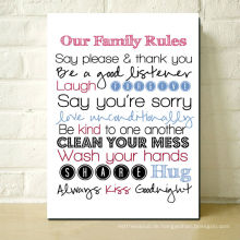 Home Regeln für Kinder
