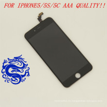 Gran venta para la pantalla del iPhone 5c, para la pantalla LCD del teléfono móvil Apple iPhone 5c