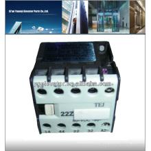 Schindler elevador Relé 22Z tipo de contactor
