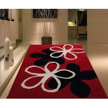 1200d Silk Polyester 3D Shaggy Carpet