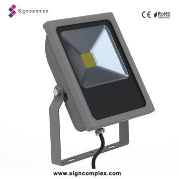 Lâmpada magro impermeável do projetor do diodo emissor de luz da CC 12V-24V da luz de inundação da ESPIGA IP65 de 50 IP65
