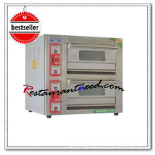 K706 Mini Type 2 Layer 2 Tray Spray Painted Electrical Deck Baking Oven