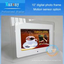 Acrylrahmen 10 Zoll lcd digitaler Fotorahmen