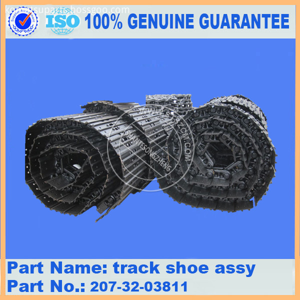 Pc300 7 Track Shoe Assy 207 32 03811