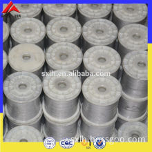 Shannxi lihua export hot sale highest quality titanium wire price per pound in spool