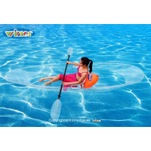 100% Clear Sit on Top Kayak Transparente (VUE-1)