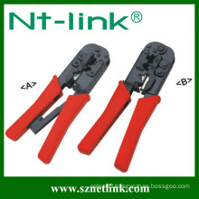 Without rachet 4P+6P+8P crimping tool pvc pipe