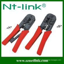 Ручной инструмент для обжатия типа 4P + 6P + 8P