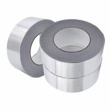 2021 Fita adesiva de folha de alumínio acrílico resistente às intempéries magnética para reparo de duto forte