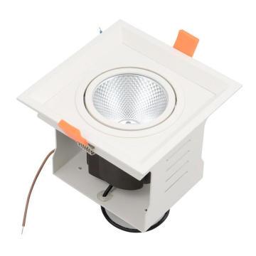 LED Grille Luz Dimmable empotrada LED parrilla de techo Down Light