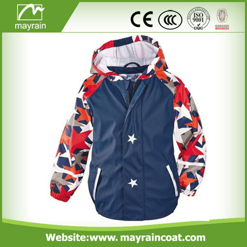 Colorful Full Printing Raincoat