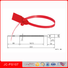 Jcps-107 PP / PE, Material Plástico e Plástico Selos Estilo Segurança Saco de Dinheiro Selo
