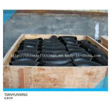 Cuello de tubo de acero de carbono de 90deg