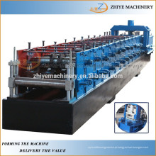 Totalmente automático frio aço cz purlin frio formando máquinas