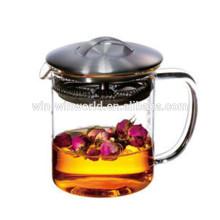 Heißer Verkauf Weihnachtsgeschenk Borosilikatglas Heißer und Kalter Wasserkrug