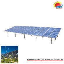Kits de montagem de tubos de terra solar personalizados (SY0475)