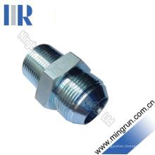 Adaptateur hydraulique de raccord hydraulique mâle métrique mâle / NPT (1QN)