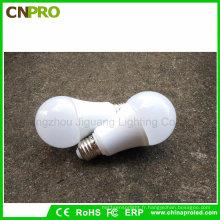 Nouvelle ampoule LED E27 en plastique et en aluminium 12V 9W pour nous et l'Europe