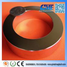 Imán del anillo del neodimio de la alta calidad D76.2xd50.8X12.7mm N42
