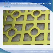 Power Coated Aluminium perforierte Decke für dekorative Mesh