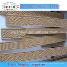 nueva moldura de madera tallada a mano