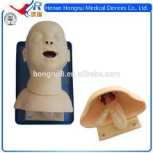 Nuevo simulador de intubación oral y nasal, maniquí médico de entrenamiento infantil