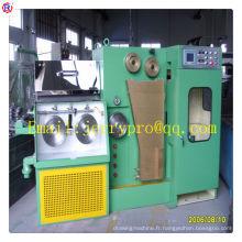 14DT (0.25-0.6) machine de tréfilage de cuivre fine avec l'équipement de fabrication de câble de fil d'ennealing