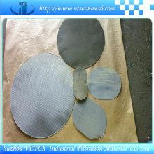 Malha de aço inoxidável da tela de malha do filtro de malha de arame 304