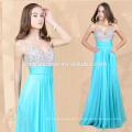 Günstige Charming Sexy Green Bead Abend Dress2015 Heißer Verkauf Designer Eveing Kleid 2016 Abendkleid Abend