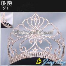 Gold Beauty Queen Crowns
