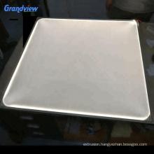 custom-made opal acrylic light diffuser sheet