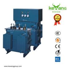 Transformador de baixa voltagem refrigerado a óleo
