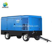 rig pengeboran sumur Portable diesel air compressor