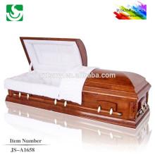 JS-A1658 crédible meilleurs prix Chine cercueil fabricants
