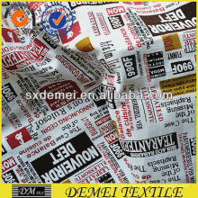 printed textile upholstery new fabric cotton polyester