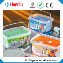 2015 hot sale custom IML In Mold Label for colorful container