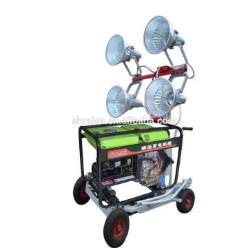 Установлены дизельные транспортные средства RZZM-12D с воздушным охлаждением