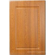 Porte de placard bois PVC cuisine porte de l'armoire (HLPVC-1)