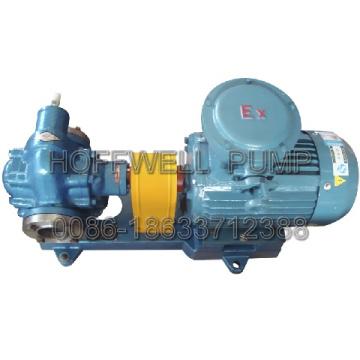 Bomba de engranaje de aceite combustible KCB300 aprobada por CE
