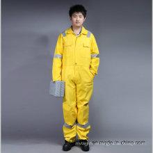 Prenda de trabajo de seguridad ignífuga Proban con cinta reflectante