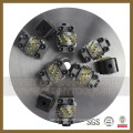 Marteau de Bush de 300mm avec le rouleau rotatoire de litchi de diamant
