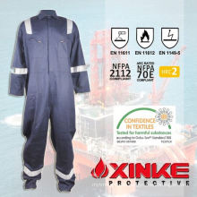 Cotton nylon arc flash protective coverall for safety/protective clothing/garments/workwear