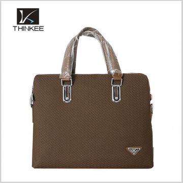 Fashion wholesale long strap men shoulder bag leather messenger bag with flap