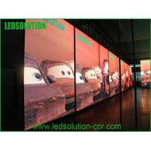 Hochauflösende DIP P10 LED Videowand im Freien