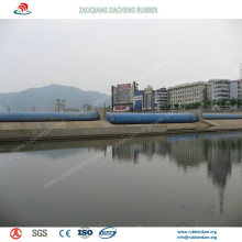 Inflatable Rubber Dam Widely Used for Water Conservancy Project