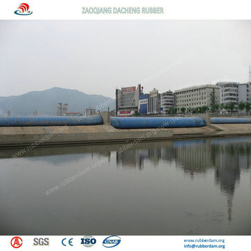 Durable Air Filled Inflatable Rubber Dam with 15 Years Working Life