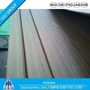 Placa Natural MDF Cinza 1220 * 2440 * 3mm